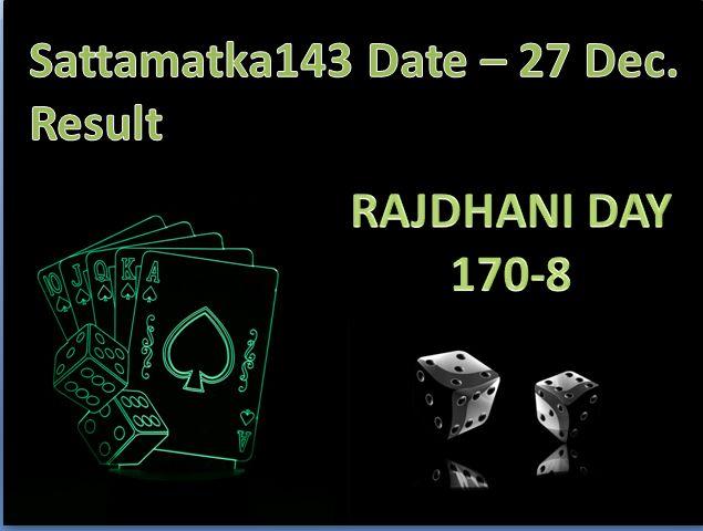 Date - 27 Dec 2017  Rajdhani Day #satta #matka #sattamatka #sattaking Result