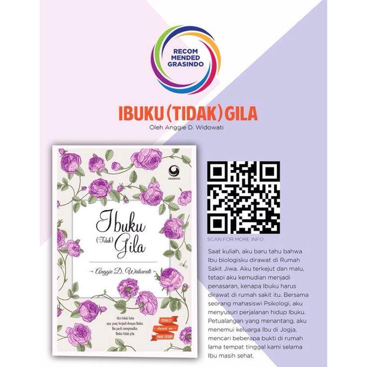 """#RecommendedBook """"Ibuku (Tidak) Gila"""" by @anggiedwidowati http://bit.ly/ibukutidakgila"""