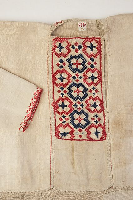 FolkCostume&Embroidery: Costumes and Embroidery of Ingria, part 2