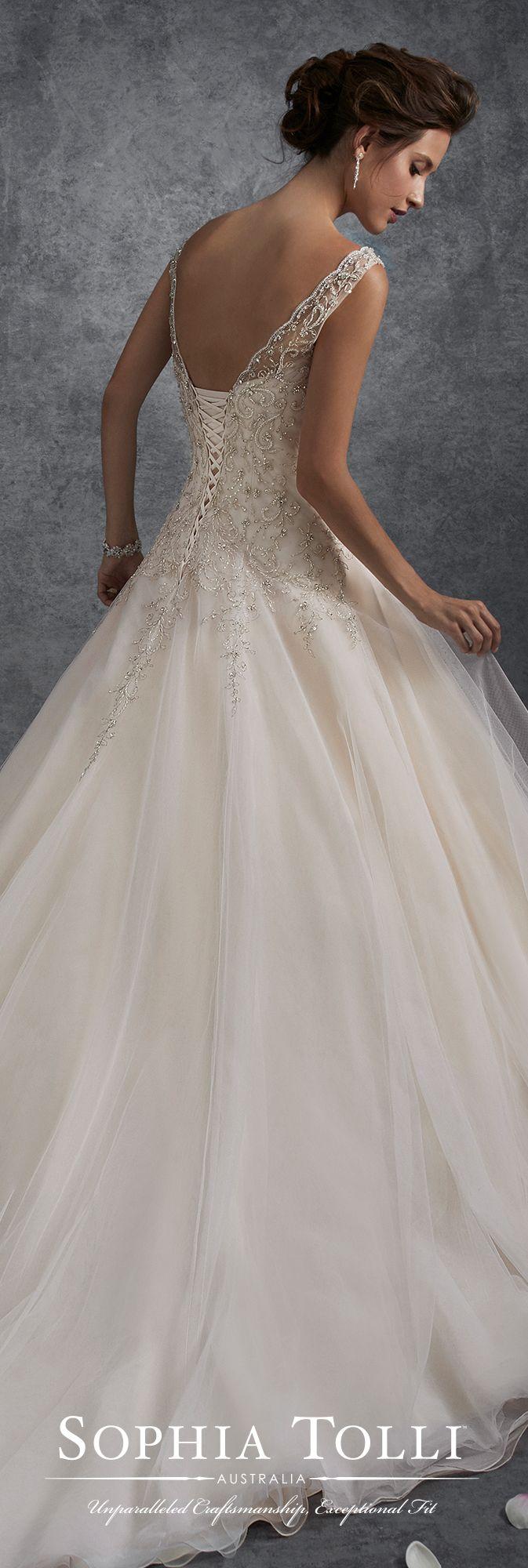 548 best wedding dresses by sophia tolli images on for Sophia tulle wedding dress