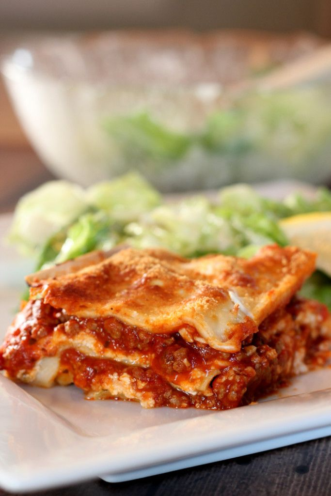 Lasagna recipe using the Philips Pasta Maker