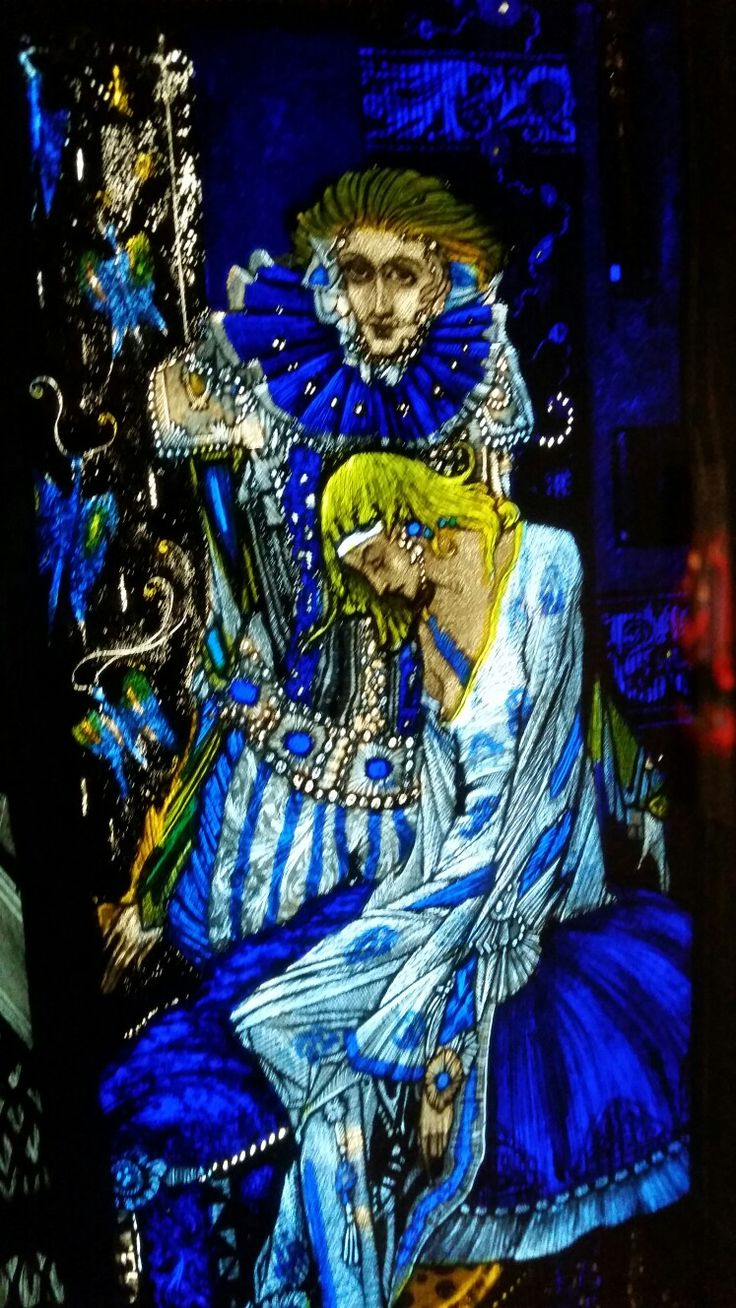 The Eve of St Agnes by Harry Clarke - So sad...oops nipple slip. Did he notice?
