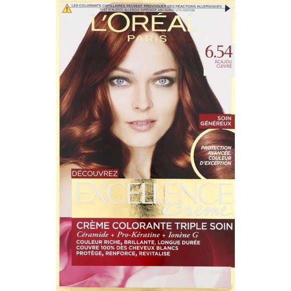 L Oreal Paris Excellence Coloring 6 54n Dark Blond Acaj Loreal