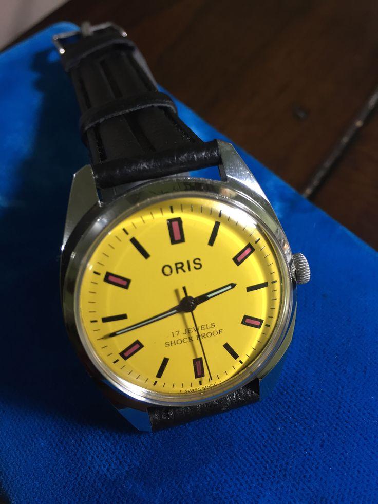 Oris watch co. Swiss 17 jewels shockproof. | Watches ...