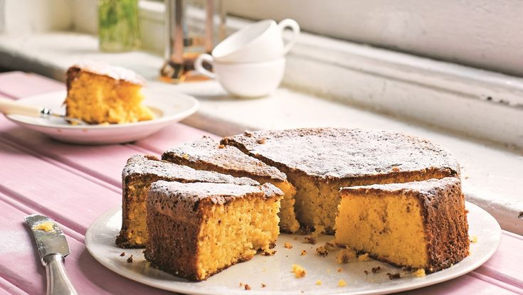 Claire Thomson's boiled clementine cake, a recipe from the National Trust Family Cookbook © Jill Mead
