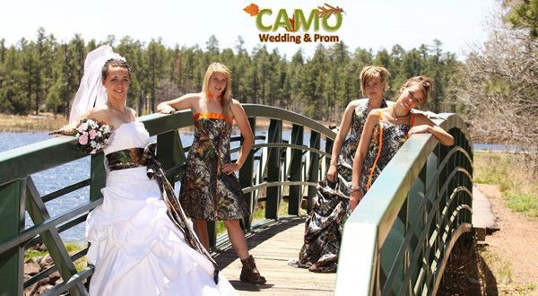 Camo Wedding Ideas for Redneck Weddings Keywords: #weddings #jevelweddingplanning Follow Us: www.jevelweddingplanning.com  www.facebook.com/jevelweddingplanning/