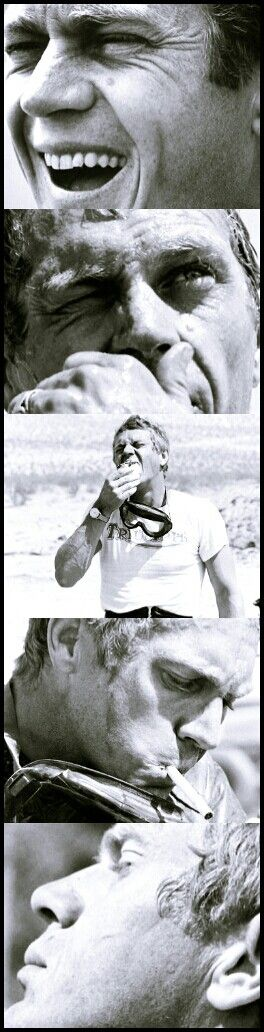 Steve McQueen. ☑  Sam Page ☺