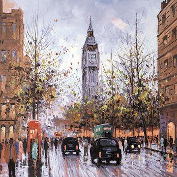 The Elizabeth Tower  by Henderson Cisz