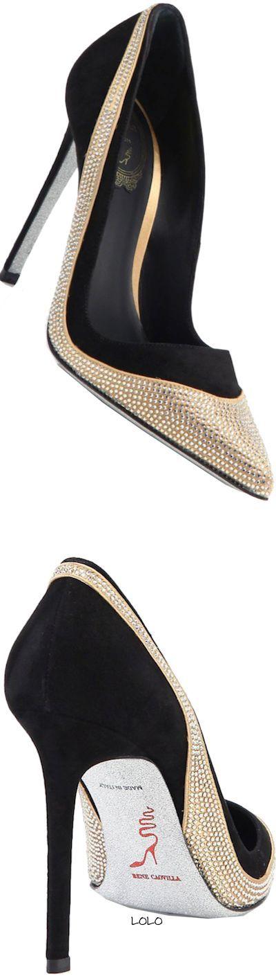 Women's Fashion High Heels :    Rene Caovilla  - #HighHeels https://youfashion.net/shoes/high-heels/trendy-womens-high-heels-rene-caovilla-9/