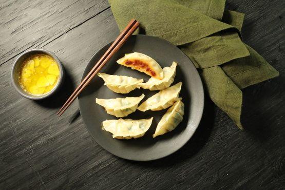 Food Network Shrimp Scampi Potstickers