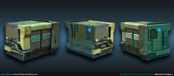 ArtStation - 343 Industries Storage Box, James Meader