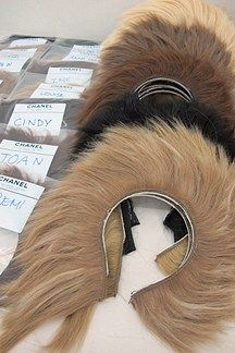 lion manes at chanel couture! kooky. Sam McKnight: Backstage At Chanel Couture