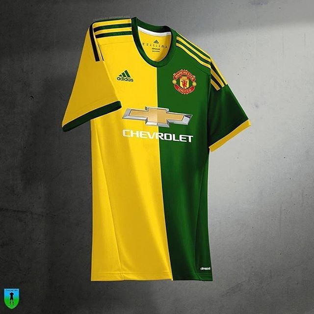 pretty nice d1350 2be15 Manchester United x Adidas concept kit by @concept.kits ...