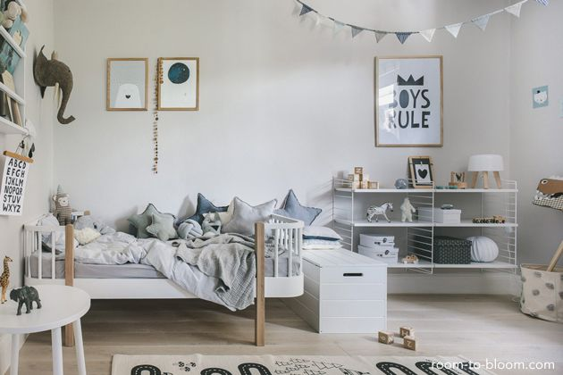 Behang Kinderkamer Scandinavisch : 188 besten kids room bilder auf pinterest einrichtung