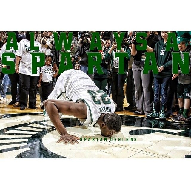 Draymond Green was recently added to the Team USA roster to train with the team. #Michiganstate