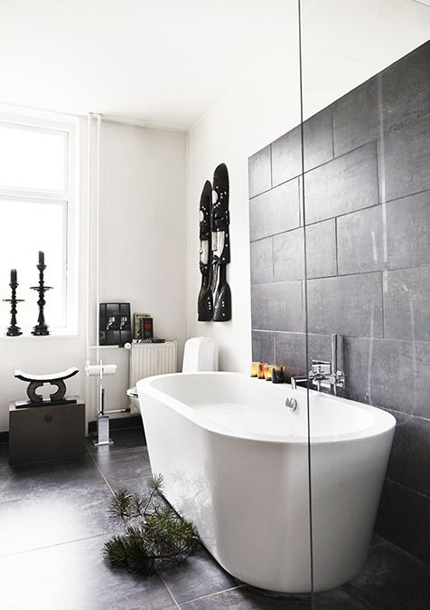 11 Best Ideas For Guest Bathroom W Black Slate Floor