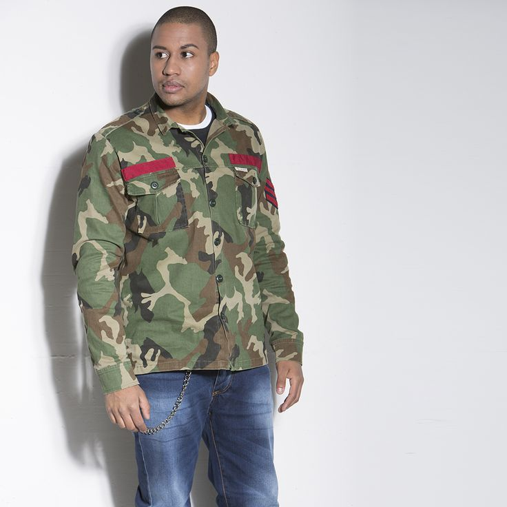 FIELD JACKET #jacket #field #italogy #italogyofficial #madeinitaly #authentic #italian #couture #musthave #camouflage #man