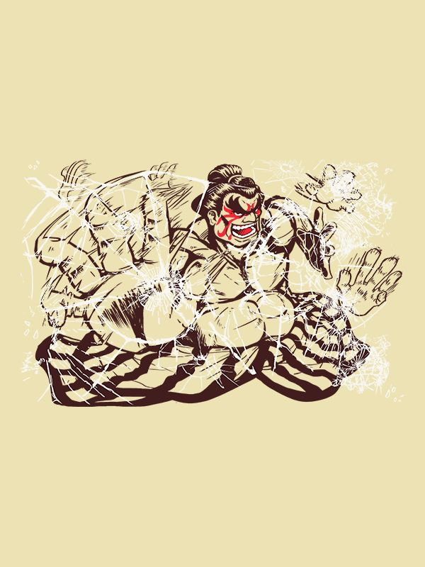 Dosukoi! Sumo Style! This E. Honda design shows how he can handily defeat the opposition and why sumo is truly #1 sport in the world! The resident Rikishi will make a great addition to your Street Fig