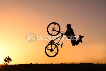deli bisiklet sürmek — Stok İmaj #91243966