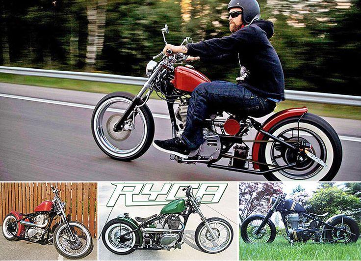 Ryca RR-1 Hardtail Bobber Kit - Ryca Motors Online Store