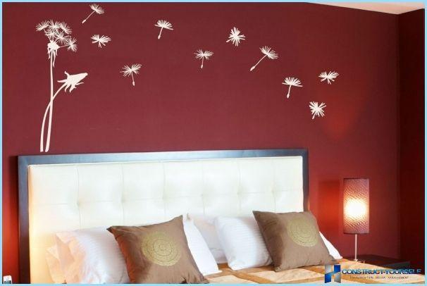 pittura murale decorativo con l'effetto di seta | Design ...