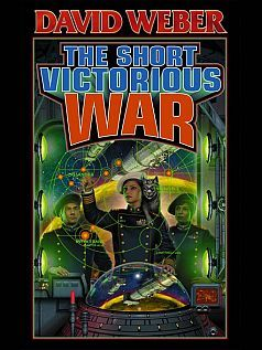The Short Victorious War by David Weber. Book 3 about Honor Harrington and the war with the People's Republic of Haven