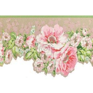 Cenefa lavender dream 322306 floral dreams and lavender - Cenefas papel pintado ...
