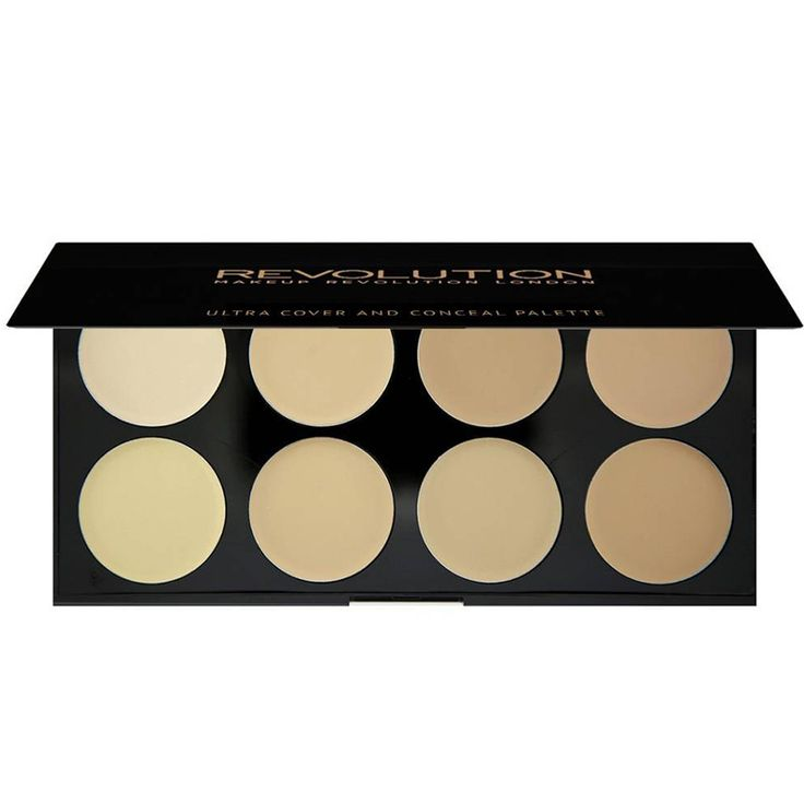 These Concealer Palettes Are Guaranteed to Hide All of Your Skin's Secrets - Makeup Revolution Ultra Cover