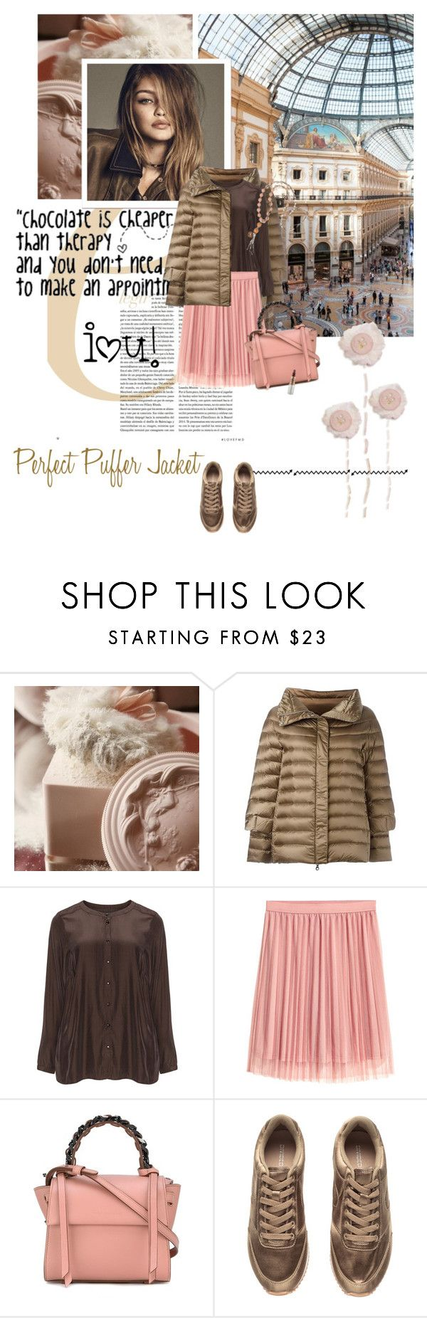 """""""Perfect Puffer Jackets"""" by lacas on Polyvore featuring Hetregó, Zizzi, Elena Ghisellini, Mariah Carey, Alexis Mabille and puffers"""