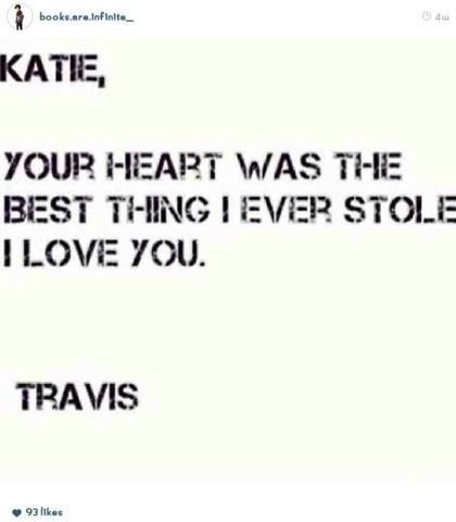 We barely know anything about Travis and Katie why r ppl shipping them????