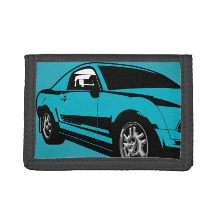 Muscle Car Men's Wallet - tap to personalize and get yours