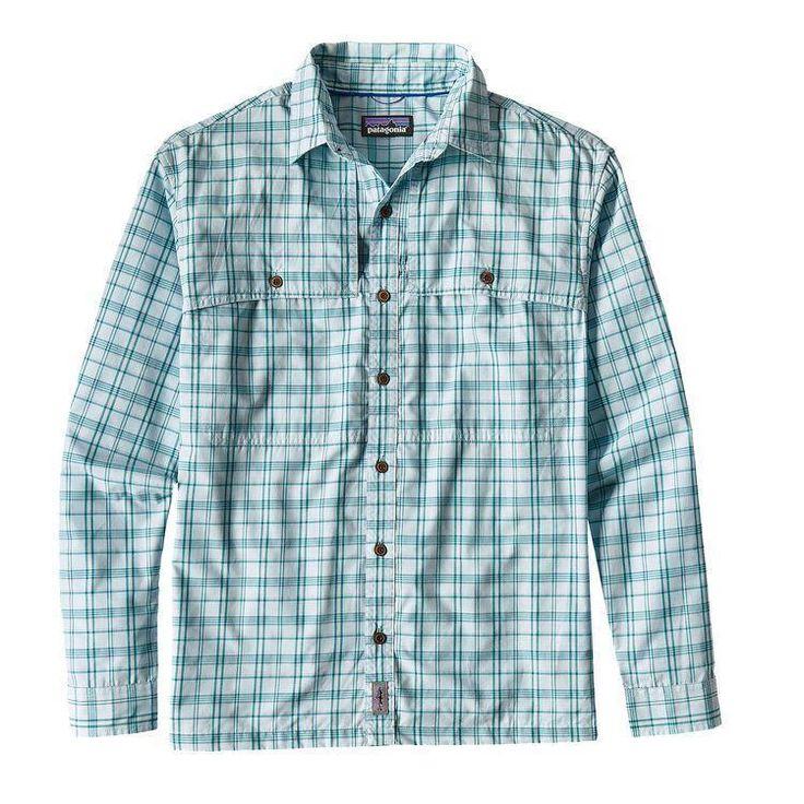 Patagonia Men's Long-Sleeved Island Hopper II Shirt - PATAGONIA