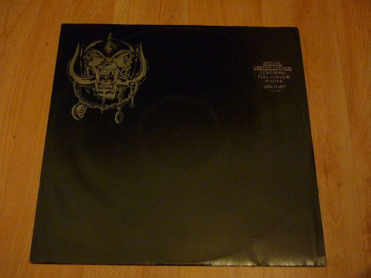 MOTORHEAD - Killed By Death - UK 12  - BRONZE BROX 185