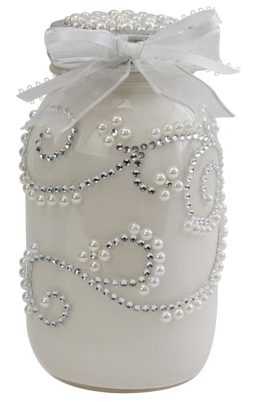 Nicole™ Crafts Wedding Jar #masonjar #wedding #diy