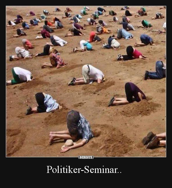 #Politiker Seminar #political seminar