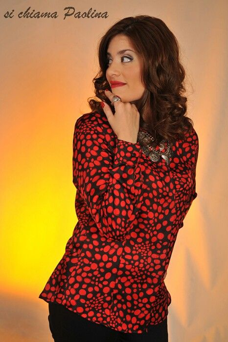 Camisa de seda by Si chiama Paolina ♡