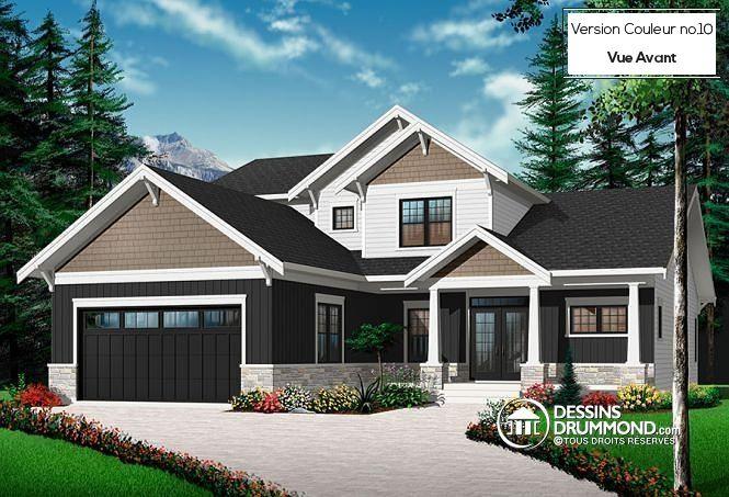 17 best images about maison 4 chambres mod les maisons de 4 chambres on pinterest house. Black Bedroom Furniture Sets. Home Design Ideas