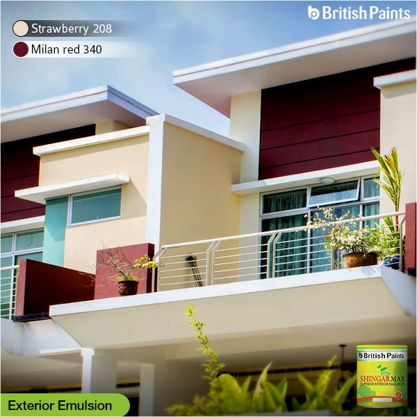 Shingar Max, our special exterior emulsion is suitable for dry or moderately humid climatic conditions.   Coat your walls with Shingar Max today and let your walls do the talking.