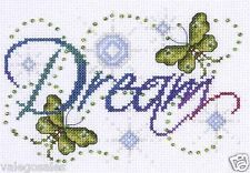 "Design Works Counted Cross Stitch Kit 5"" x 7"" ~ DREAM Sale #9797"