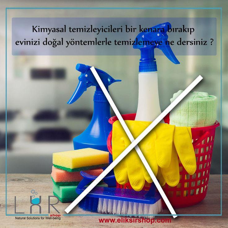 Kimyasal temizleyicileri bir kenara bırakıp evinizi doğal yöntemlerle temizlemeye ne dersiniz ? Sadece sirke, karbonat, boraks, arap sabunu veya kastil sabun kullanarak ve bunlara antibakteriyel, antimantar, antivirüs etkili uçucu yağlar ekleyerek tüm evimizi temizleyebiliriz.