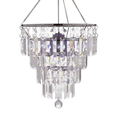 Exhart Anywhere Lighting Battery-Operated Chandelier---for backyard patio hang from tree branch and/or bedroom accent lighting