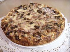 Безумно вкусный пирог с черносливом / Рецепты с фото