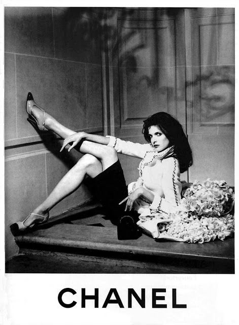 Chanel ad 1995 feat Stephanie Seymour | All Things Chanel ...
