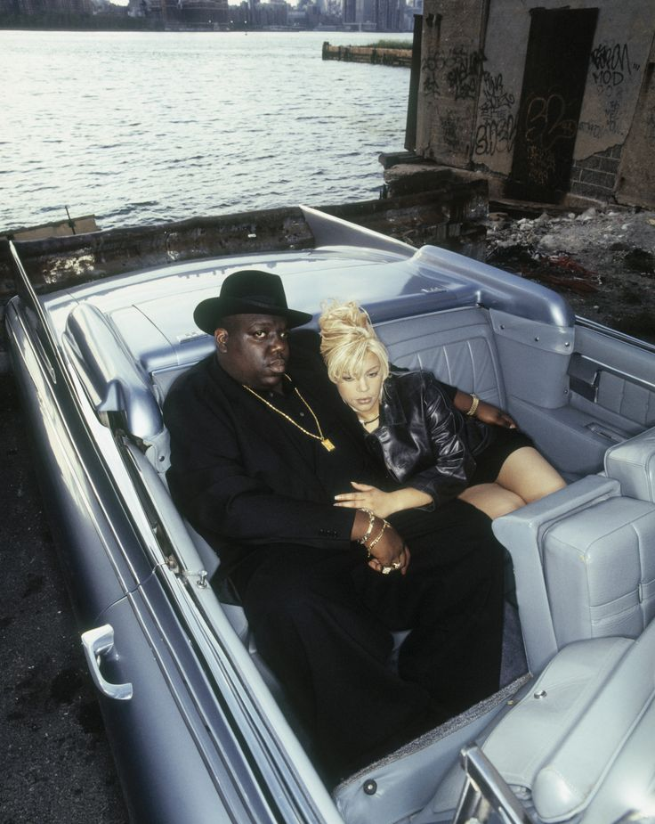 Notorious B.I.G. and Faith Evans. #hiphop #rap #intheblood #thuglife http://whytaboo.com.au/ Where nothing is taboo
