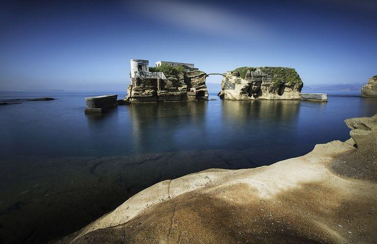 """Napoli in un Pin: la Gaiola, one of the minor island of Napoli ... a hidden gem of the """"gulf"""""""