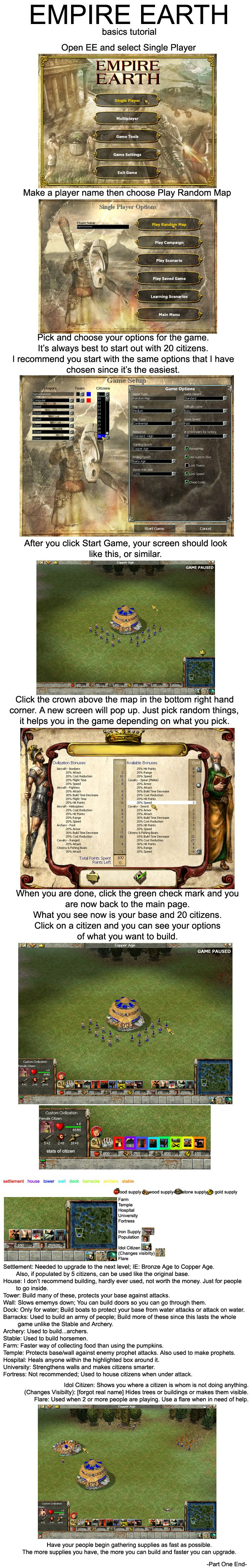 Empire Earth Tutorial P.1 by sambeawesome on DeviantArt