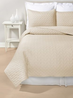 75% OFF Luxury Suite Rayon from Bamboo Quilted Brick Coverlet Set (Hemp)