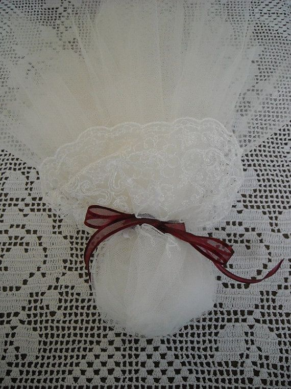 Handmade lace and tulle wedding or bridal by FavorsAndMorebyFiona, $4.50
