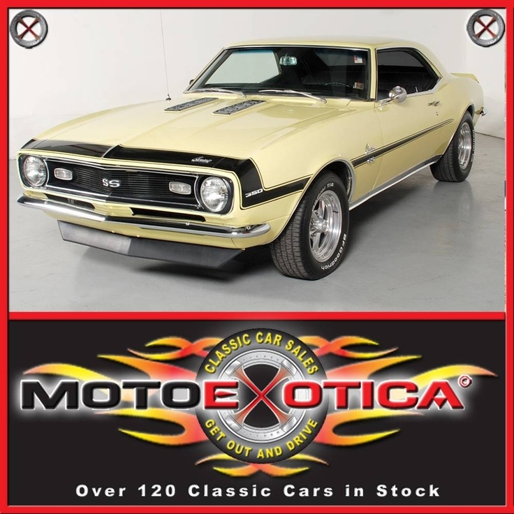 Yellow 1968 Chevrolet Camaro Ss For Sale | MCG Marketplace #classi cars #muscle cars #for sale