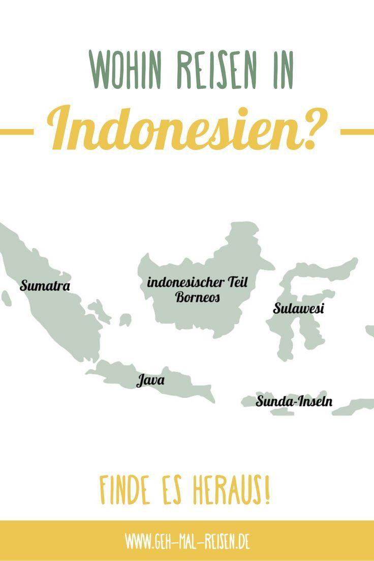 Indonesien ist unglaublich groß, weil dieses Land das größte Inselreich von …   – ASIEN • Reiseziele & Reisetipps
